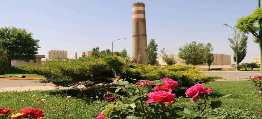 رفع نشتی از داکت دود خروجی ایرهیتر واحد 2 نیروگاه شهید مفتح