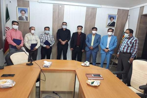 تجلیل از خبرنگاران شهر سربیشه