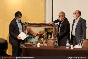 برگزاری مراسم تکریم و معارفه مدیرکل رفاه و پشتیبانی وزارت راه و شهرسازی