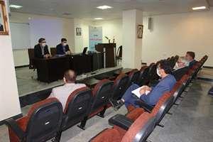 جلسه کمیته فنی شهر فاروج روز سه شنبه 21 مرداد ماه 99