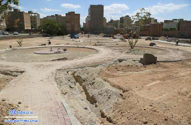 افزایش بیش از ۳۲۰۰ متر مربع به وسعت پارک مختاروند