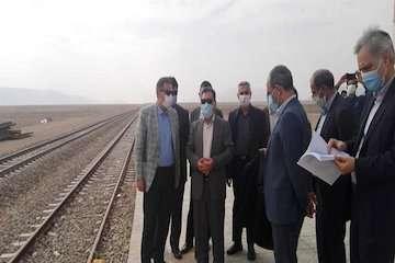 تا پایان سالجاری راه آهن یزد- اقلید آماده بهره برداری است