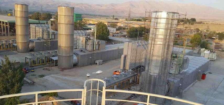 دمونتاژ پره های توربین نیروگاه گازی دورود