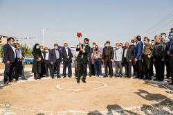شهردار شیراز کلنگ تقاطع «احمد بن موسی (ع) – رحمت» را به زمین زد