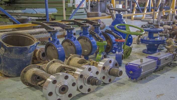 بازسازی و بهسازی ولوو در نیروگاه حرارتی شازند