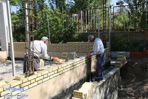 پیشرفت ۳۵ درصدی احداث ساختمان عمران شهرداری منطقه۷