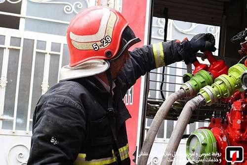 پوشش 32 مورد حریق ، حادثه و خدمات ایمنی در 48 ساعته گذشته/ آتش نشانی رشت
