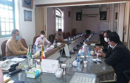 دیدار شهردار باغ شهر تاریخی مهریز با رئیس و معاون سازمان همیاری و شهرداری های استان یزد