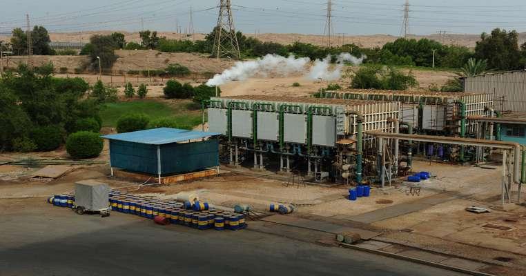 رفع موانع تولید آب شیرین کن های نیروگاه بندرعباس