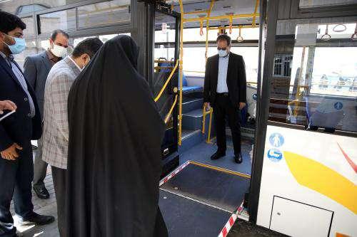 8 دستگاه اتوبوس جدید وارد ناوگان حملونقل عمومی شد