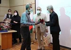 مراسم تجلیل از آزادگان شرکت آب و فاضلاب استان مرکزی برگزار شد