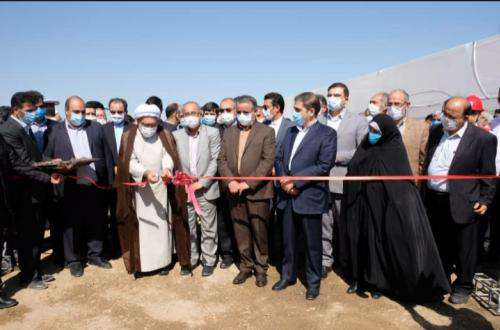 پروژه ساماندهی جاده ۷۵ متری رضویه افتتاح شد