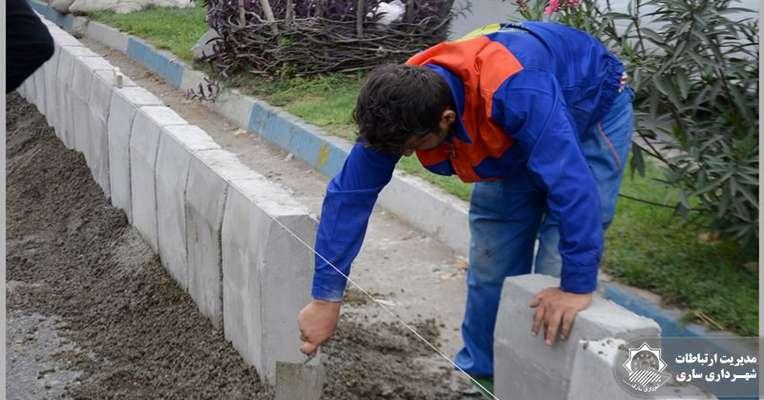 پیشرفت فیزیکی 40 درصدی پروژه بهسازي بلوار امام رضا (ع)