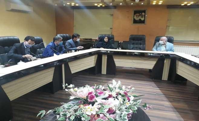 گزارش تصویری نشست ریاست شورای اسلامی شهر رشت با مدیران بیمه آسیا جهت پیگیری وضعیت بیمه پرسنل شهرداری