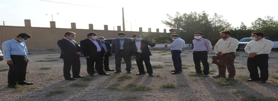 بازدید استاندار یزد از پروژه احداث خط ۲۳۰ کیلوولت ابرکوه- اسمالون