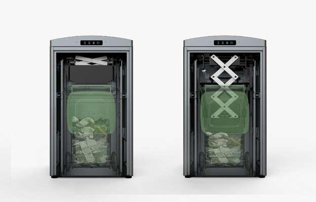 فنآوریهای پیشرفته در سطلهای زباله