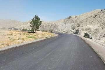 ۲ هزار و۶۰۰ کیلومتر راه روستایی در قالب طرح ابرار آسفالت شد