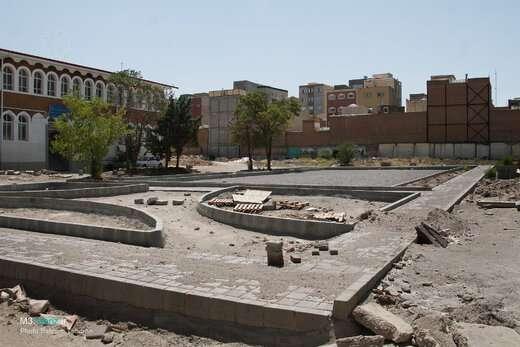 پارک محلهای صائب در آستانه افتتاح و بهره برداری است