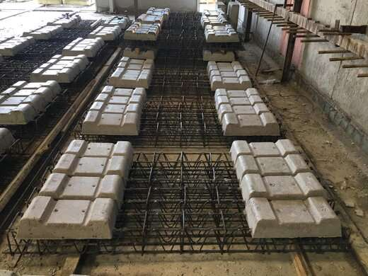 تولید تراورس دی بلوک جهت تکمیل خط یک قطار شهری