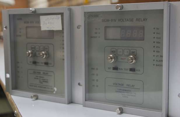 بازسازی رله ولتاژی در نیروگاه حرارتی شازند