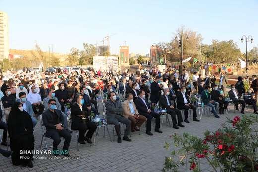 افتتاح و بهره برداری از سه پروژه عمرانی و خدماتی شهرداری  منطقه ۱ تبریز