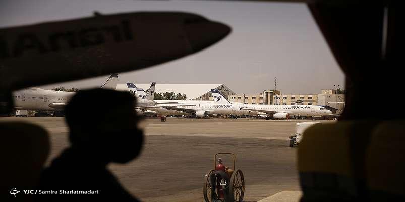 هیچ انفجار وآتش سوزی در فرودگاه مهرآباد رخ نداده است