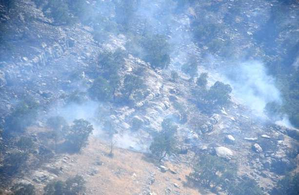 مهار ۹۵ درصدی آتشسوزی منطقه حفاظتشده شیمبار