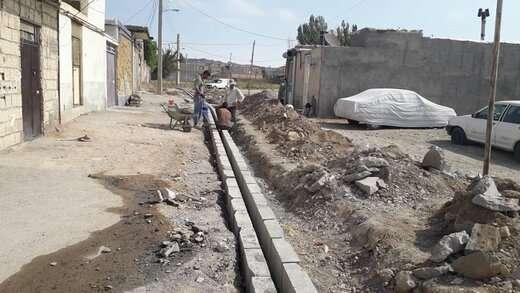 ارتقاء زیرساختهای شهری در محله آناخاتون