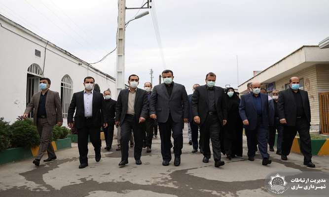 آیین غبارروبی گلزار شهدا و تجدید میثاق با آرمان های انقلاب اسلامی