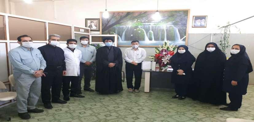تقدیر از مجموعه کادر پزشکی نیروگاه رامین اهواز در روز پزشک