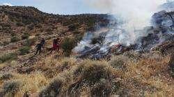 آتشسوزی ارتفاعات شاپورجان مهار شد