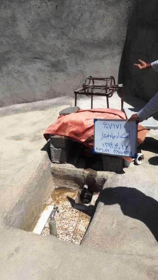 14حلقه چاه غیرمجاز آب در خواف مسدود شد