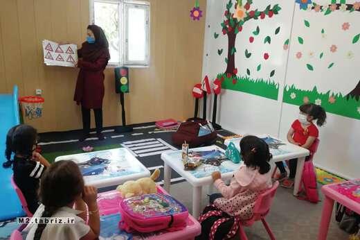 برگزاری کارگاه آموزش شهروندی ترافیک برای کودکان