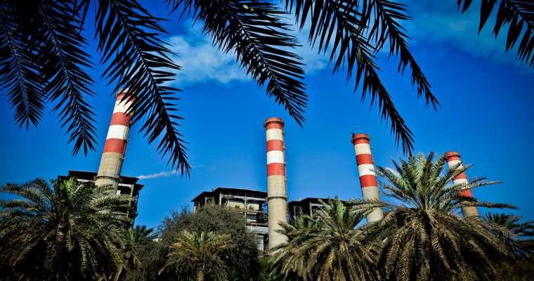 تولید بیش از دومیلیون و سیصد و چهل هزار مگاوات ساعت برق توسط نیروگاه بندرعباس در پنج ماهه نخست سال 1399