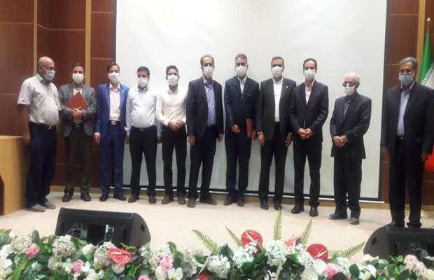 مراسم تودیع و معارفه رئیس و هیات اجرایی نمایندگان سازمان در رفسنجان
