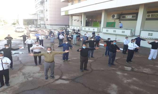 دوشنبه های ورزش کارگری خوزستان به میزبانی نیروگاه رامین اهواز
