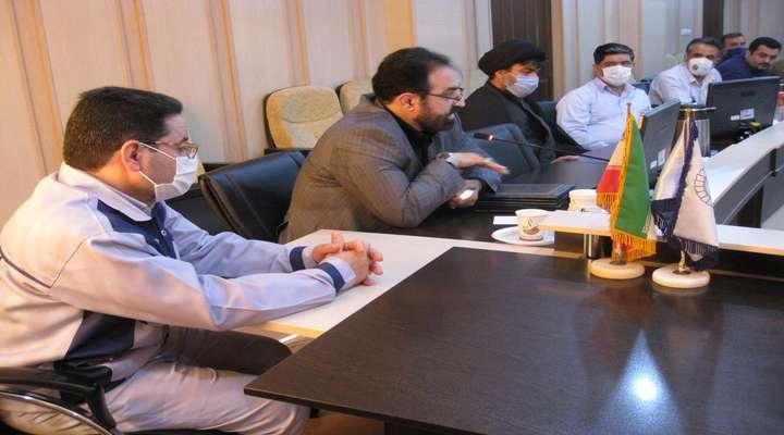 جلسه هم اندیشی کار در نیروگاه رامین اهواز