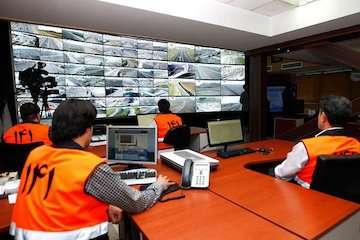 افزایش ۵/۲ درصدی ترددهای جادهای در ۲۴ ساعت گذشته
