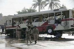 وقوع انفجار در کنار اتوبوس زائران ایرانی در عراق