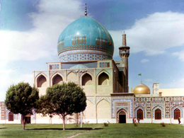 مسجد گوهرشاد با زلزله فروخواهد ریخت