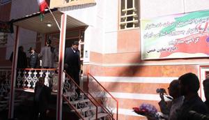 ۱۰۸ واحد مسکن مهربا حضور معاون رییس جمهور در دلیجان افتتاح شد