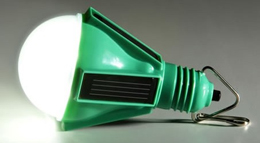 صرفه جویی در هزینه برق با یک لامپ خورشیدی جدید