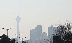 آلودگی هوای تهران تا روز دوشنبه ادامه دارد