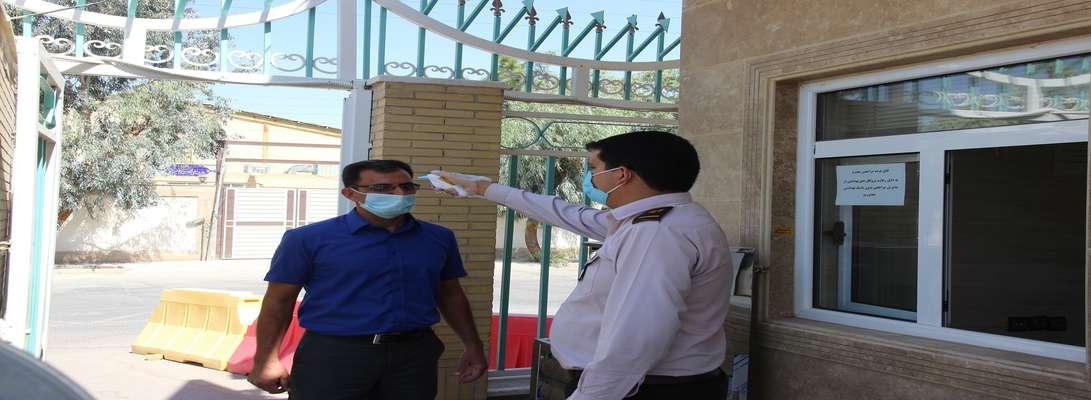 کسب مقام برتر برق منطقهای یزد در رعایت دستورالعملهای بهداشتی ادارات استان