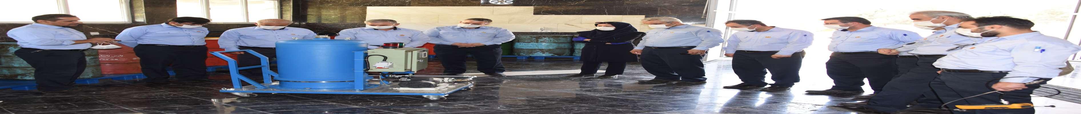 ساخت دستگاه تصفیه روغن واحدهای گازی در نیروگاه شهید رجایی