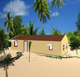 ساخت خانههای ضد زلزله و توفان با پلاستیکهای قابل بازیافت