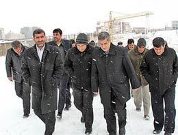 وزیر مسکن در کولاک زنجان