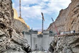 آغاز عملیات اجرایی احداث بلندترین سد بتنی ایران در غرب گیلان