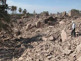 تخریب خانهها در مناطق زلزلهزده نشانه ضرورت شتاب در نوسازی روستایی است