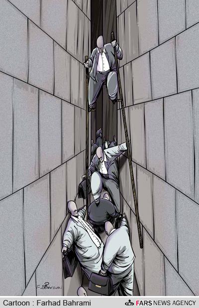 کاریکاتور-ساخت و سازهای بیرویه